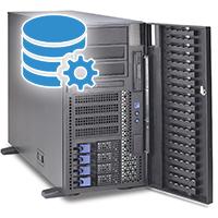 Серверы для баз данных (1С)