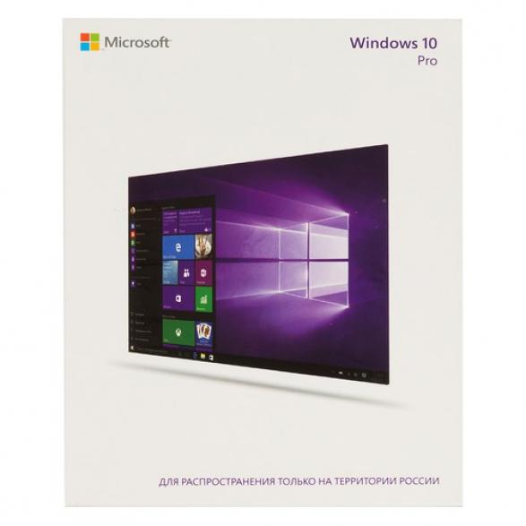 Операционная система MICROSOFT Windows 10 Pro [fqc-09118]