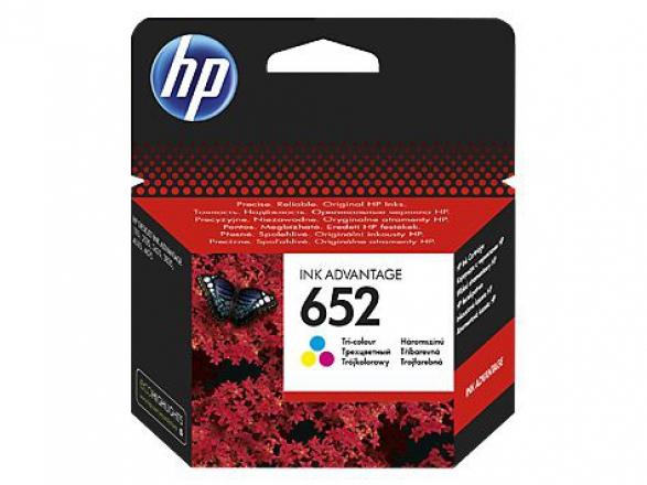 Картридж HP 652 многоцветный [f6v24ae]