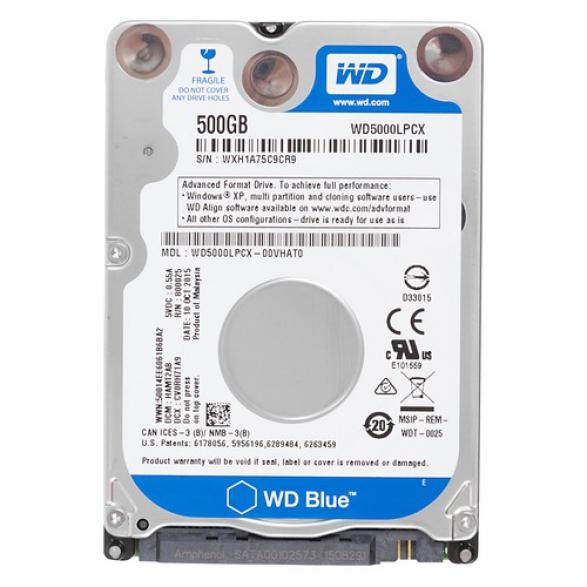 "Жесткий диск WD Blue WD5000LPCX 2.5"" 500 Гб  [WD5000LPCX]"