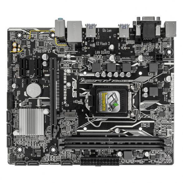 Материнская плата ASUS PRIME B250M-K LGA 1151 mATX Intel iB250