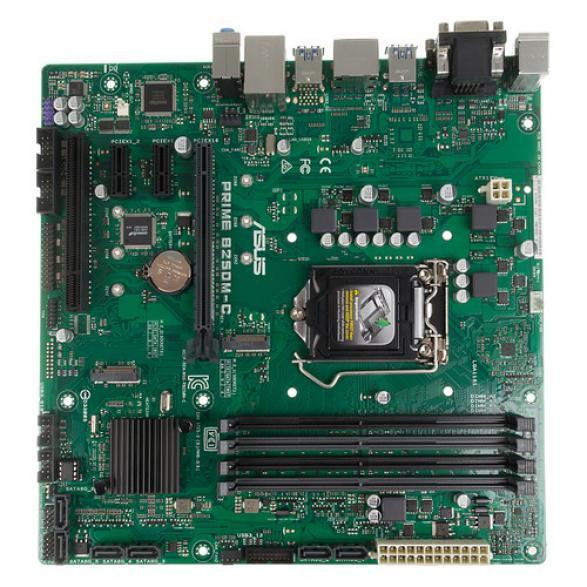 Материнская плата ASUS PRIME B250M-C LGA 1151 mATX Intel iB250