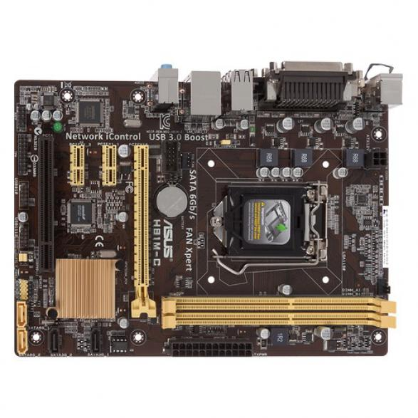 Материнская плата ASUS H81M-C LGA 1150 mATX Intel iH81
