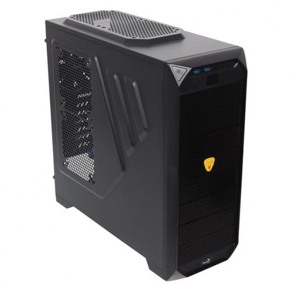 Корпус AeroCool Vs-92 Black Edition миди Tower без БП
