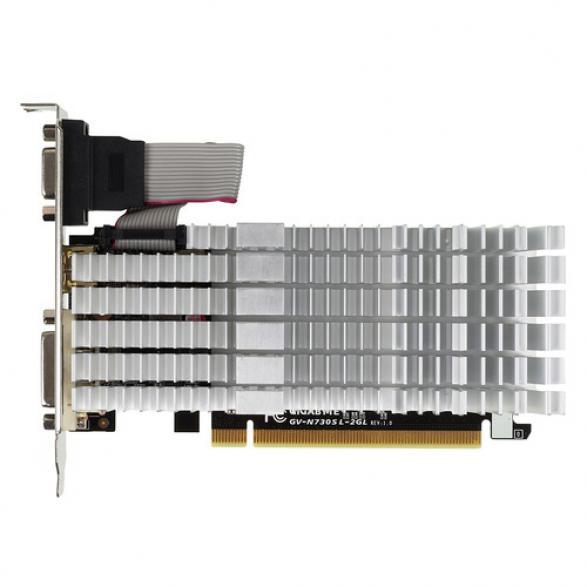 Видеокарта GIGABYTE GeForce GT 730 2 Гб DDR3 [GV-N730SL-2GL]