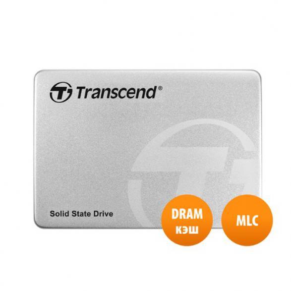 "SSD накопитель TRANSCEND TS128GSSD370S 128Гб 2.5"" SATA"