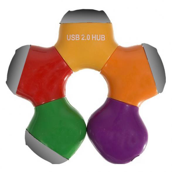 USB хаб PC PET Flower 4 порта USB 2.0