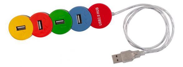 USB хаб PC PET Snake 4 порта USB 2.0