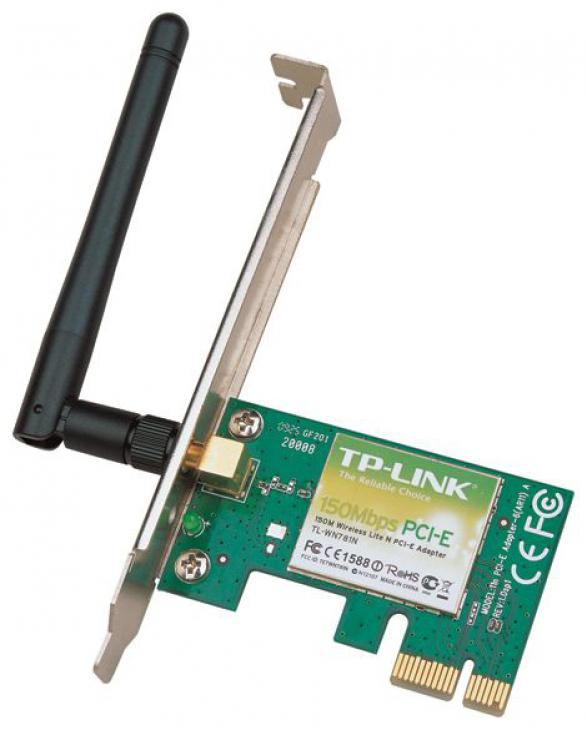 Сетевой адаптер TP-LINK TL-WN781ND PCI Express WiFi