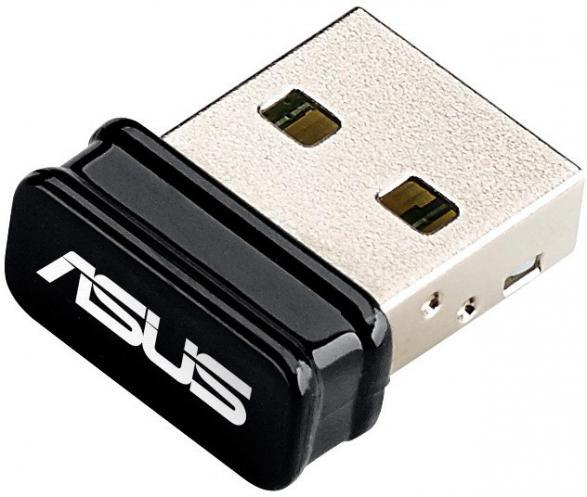 Сетевой адаптер ASUS USB-N10 NANO USB 2.0 WiFi
