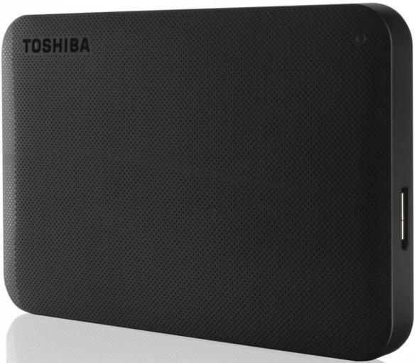 Внешний жесткий диск TOSHIBA Canvio Ready HDTP210EK3AA 1000 Гб USB 3.0 черный