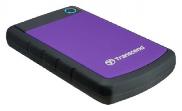 Внешний жесткий диск TRANSCEND StoreJet 25H3 TS1TSJ25H3B 1000 Гб USB 3.0 черный синий