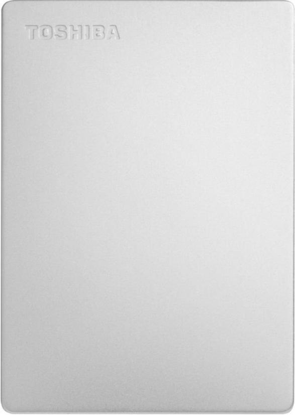 Внешний жесткий диск TOSHIBA Canvio Slim HDTD310ES3DA 1000 Гб USB 3.0 серебристый