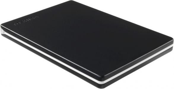 Внешний жесткий диск TOSHIBA Canvio Slim HDTD310EK3DA 1000 Гб USB 3.0 черный