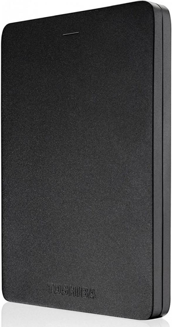 Внешний жесткий диск TOSHIBA Canvio Alu HDTH310EK3AB 1000 Гб USB 3.0 черный