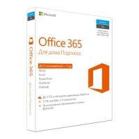 Офисный пакет MICROSOFT Office 365 для дома [6gq-00738]