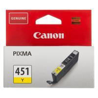 Картридж CANON CLI-451Y желтый  [6526b001]